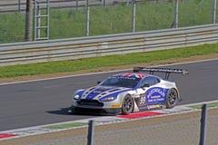 Aston Martin voordeelgt3 Royalty-vrije Stock Foto's