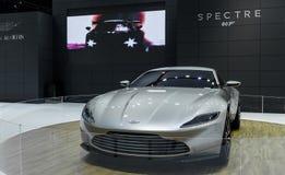 Aston Martin widmo 007 Zdjęcia Royalty Free