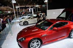 Aston Matin sur CDMS 2012 Images libres de droits