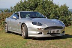 Aston oknówki db7 samochód Obraz Stock