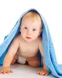 Astonished baby Stock Photography