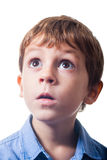 Astonished boy Stock Photos