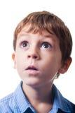Astonished boy Stock Photos