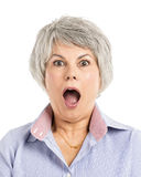 Astonished Expression Royalty Free Stock Images