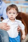 Astonished little boy Stock Photo
