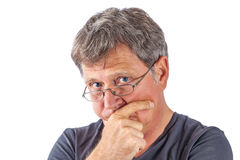 Free Astonished Man With Eye Glasses Stock Images - 33488434