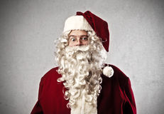 Astonished Santa Claus Royalty Free Stock Images