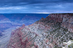 Astonishing and Beautiful Early Sunrise Hour at Grand Canyon Stock Photography