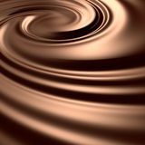 Astonishing chocolate swirl Royalty Free Stock Photos