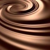Astonishing chocolate swirl Royalty Free Stock Photos