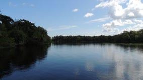 Astor Florida St Johns River reflexioner Royaltyfri Fotografi