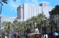 Astor Hotel New Orleans royalty-vrije stock afbeelding