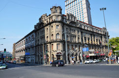 Astor House Hotel. Old buildings in Shanghai.  Astor House Hotel, formerly known as the Astor House Hotel, built in 1846, is China's first Western Business Hotel Stock Image