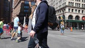 Astor Place en New York City metrajes