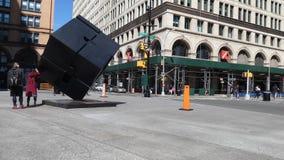 Astor Place en New York City almacen de video