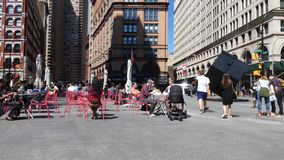 Astor Place i New York City arkivfilmer