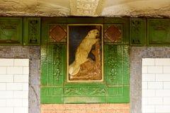 Astor Uliczna stacja metru - Miasto Nowy Jork Obrazy Royalty Free