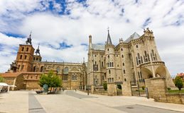 Astorga Royalty Free Stock Photography