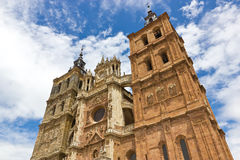Astorga cathedral Royalty Free Stock Images