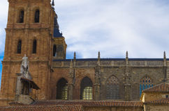 Astorga cathedral. Detail, Castile-Leon, Spain Royalty Free Stock Photos