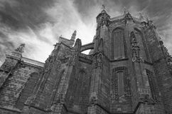 Astorga cathedral. Facade of Astorga cathedral, Spain Royalty Free Stock Photos