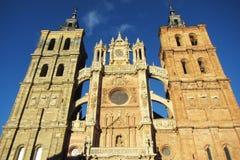 Astorga cathedral Stock Image