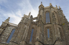 Astorga cathedral. View of Astorga cathedral, Spain Royalty Free Stock Images