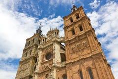 Astorga katedra Obrazy Royalty Free