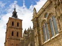 Astorga katedra Obrazy Stock