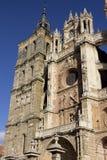 astorga katedralny katolicki sławny Spain Obraz Stock