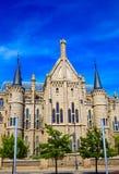 Astorga Leon Palacio Episcopal of Antoni Gaudi Stock Images