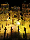Astorga by night Stock Photo