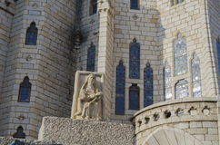 Astorga palace. Detail, Castile-Leon, Spain Royalty Free Stock Image