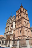 Astorga's Cathedral facade Royalty Free Stock Photos