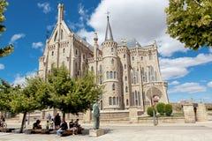 ASTORGA, SPAIN - CATHEDRAL SANTA MARIA royalty free stock image