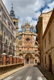 ASTORGA, SPAIN - CATHEDRAL SANTA MARIA stock photos
