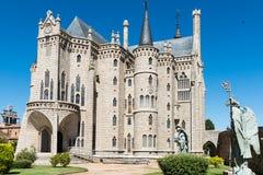 ASTORGA - SPANJE Royalty-vrije Stock Foto's
