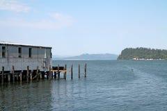 Astoria港口在俄勒冈 免版税图库摄影