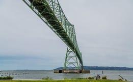 Astoria Bridge from Below Stock Image
