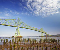 Astoria bridge in a bright day royalty free stock photography