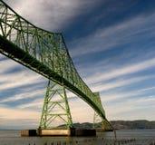 astoria bridge megler Στοκ εικόνες με δικαίωμα ελεύθερης χρήσης