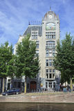 The Astoria Building at Keizersgracht, Amsterdam Royalty Free Stock Photography