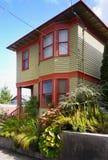 Astoria-Häuser, Oregon Vereinigte Staaten Lizenzfreie Stockfotografie