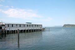 Astoria hamn i Oregon Fotografering för Bildbyråer