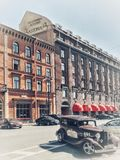 Astoria Hotel - historical building royalty free stock photo