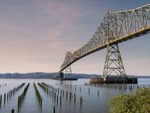 Astoria-Megler桥梁 图库摄影