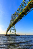 Astoria-Megler桥梁 免版税库存图片