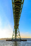 Astoria-Megler桥梁 库存图片