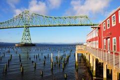 Astoria-Megler Bridge. On Pacific Coast Highway between Oregon and Washington State Stock Photo