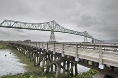 Astoria-Megler Bridge 3 royalty free stock photos